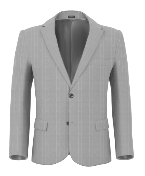 Hongdae Light grey wide blazer