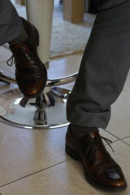 Färgguide för skor Falcontailor